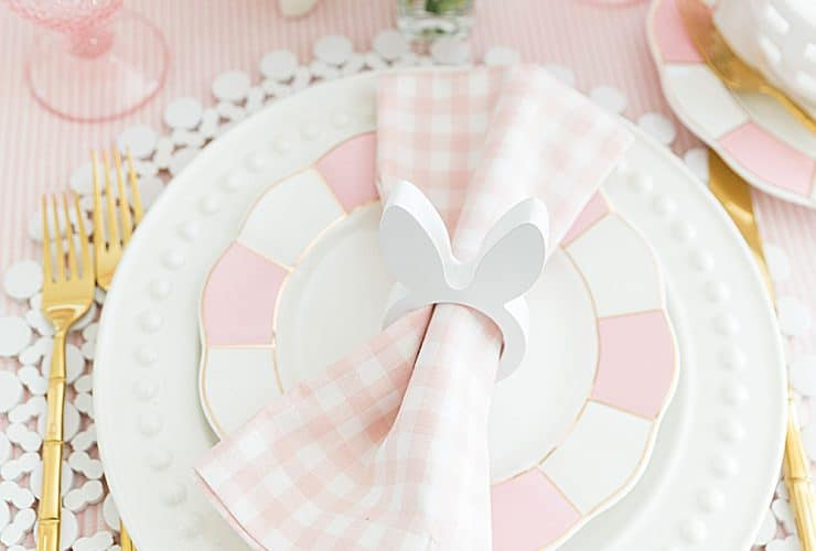 Set a Colorful Easter Table