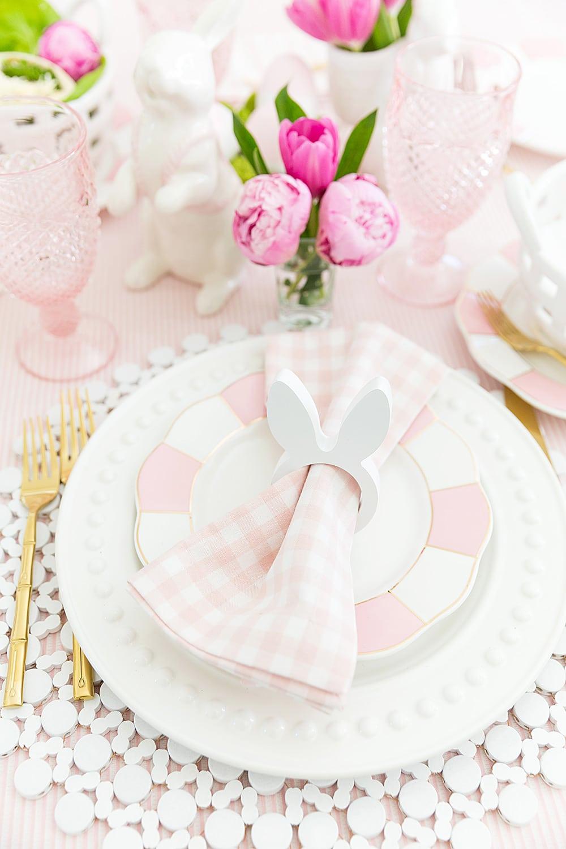 Easter Brunch Table #easter