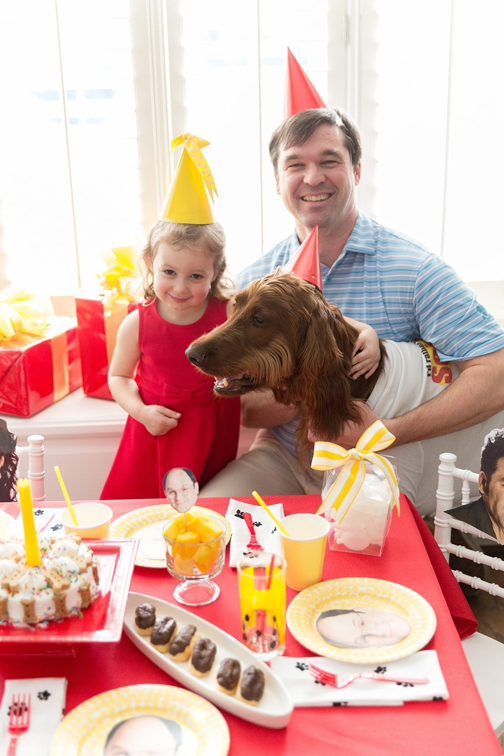 George Costanza Dog Birthday Party