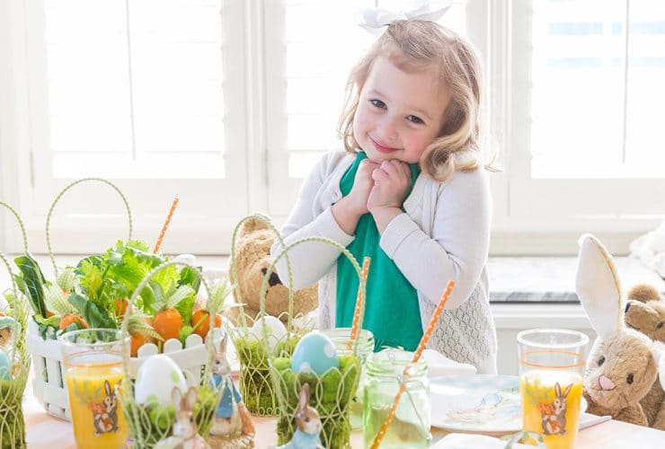 A Peter Rabbit Easter Party