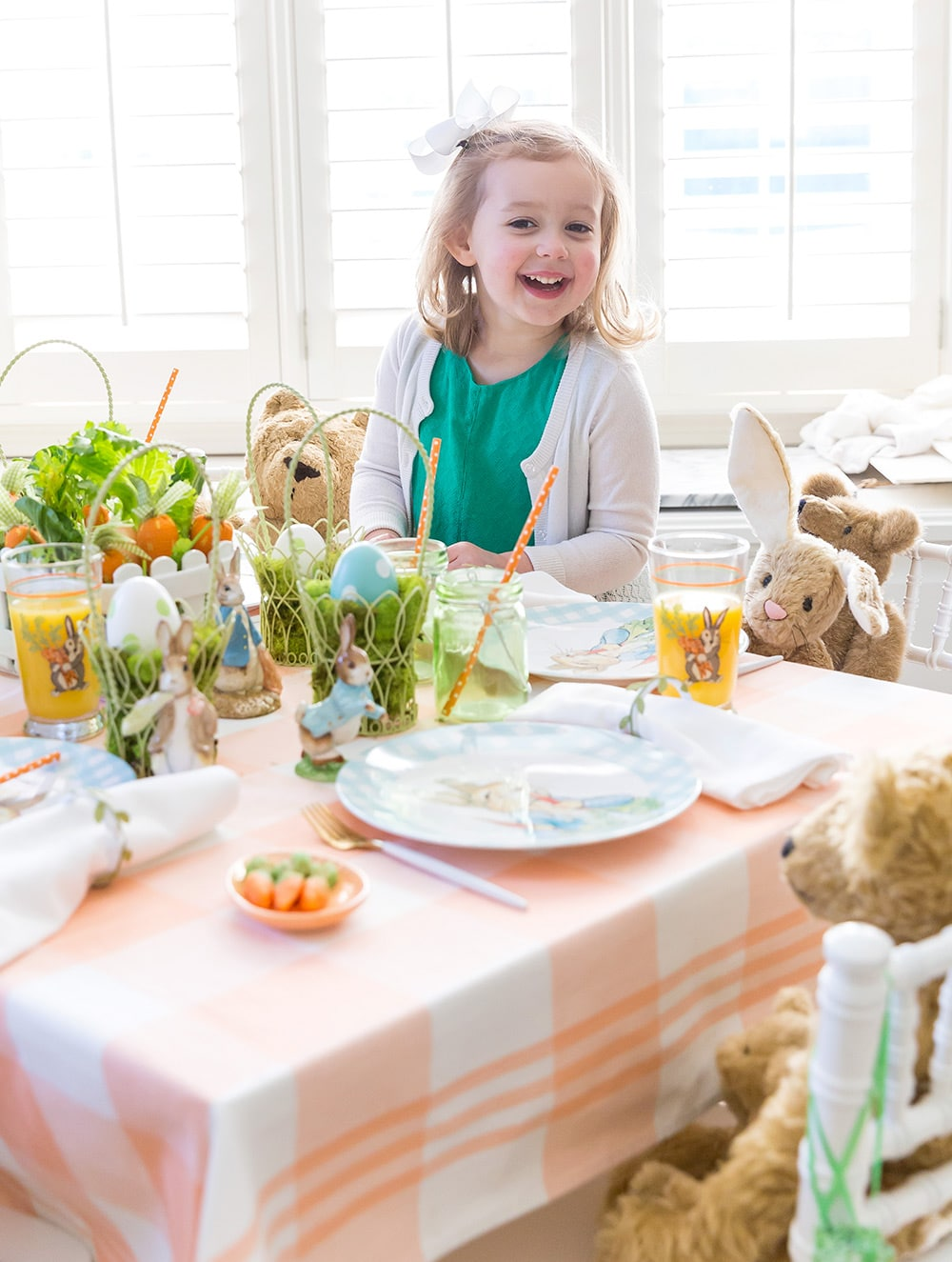 Kids Easter Peter Rabbit Inspired Party!