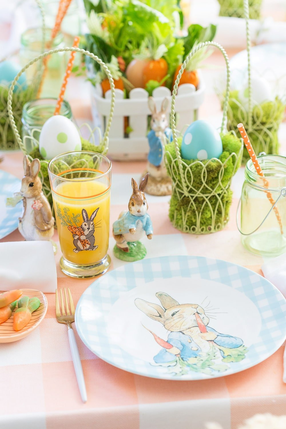 Host a Peter Rabbit Easter Party! #easter