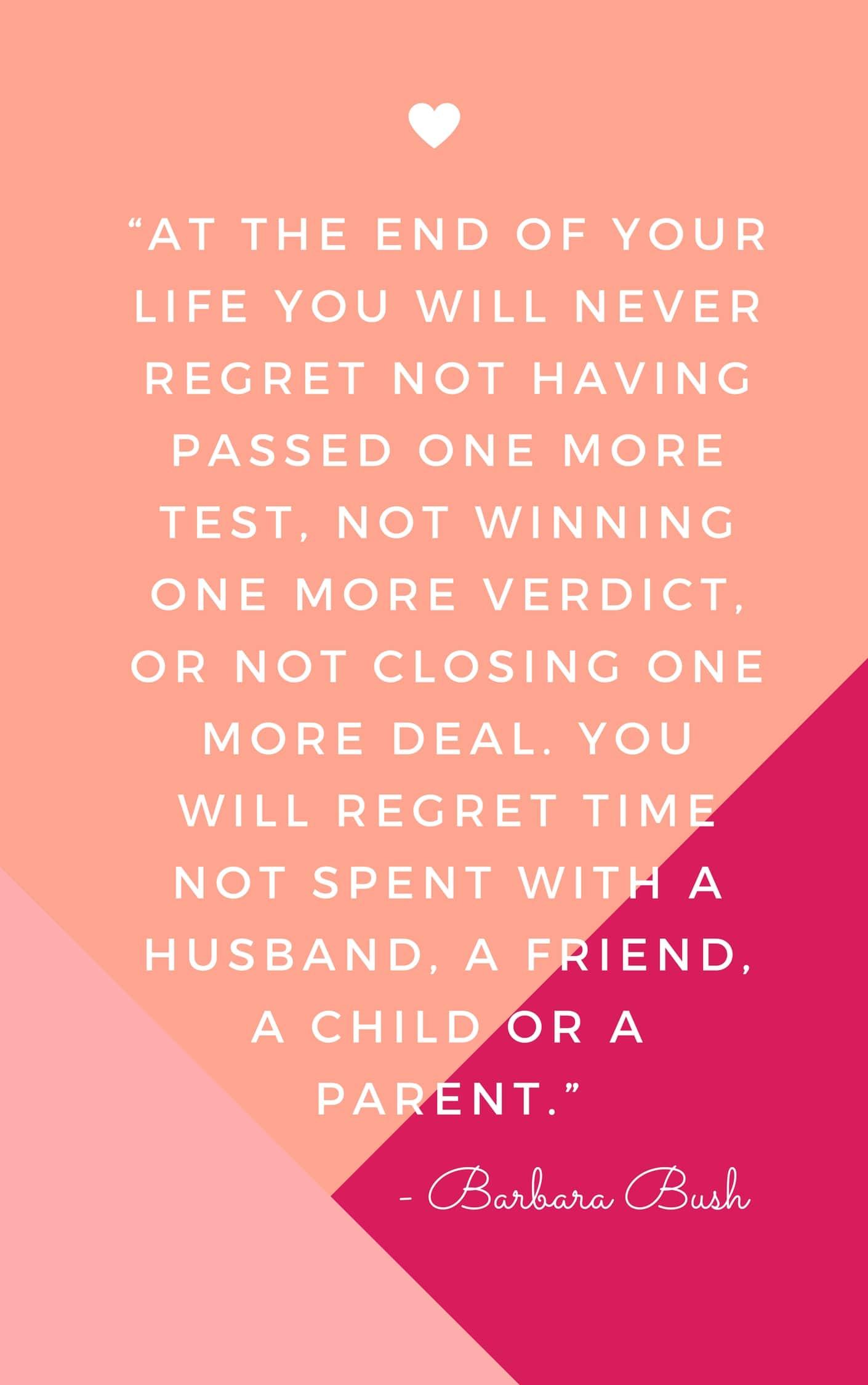 Barbara Bush Quote | The Happy List