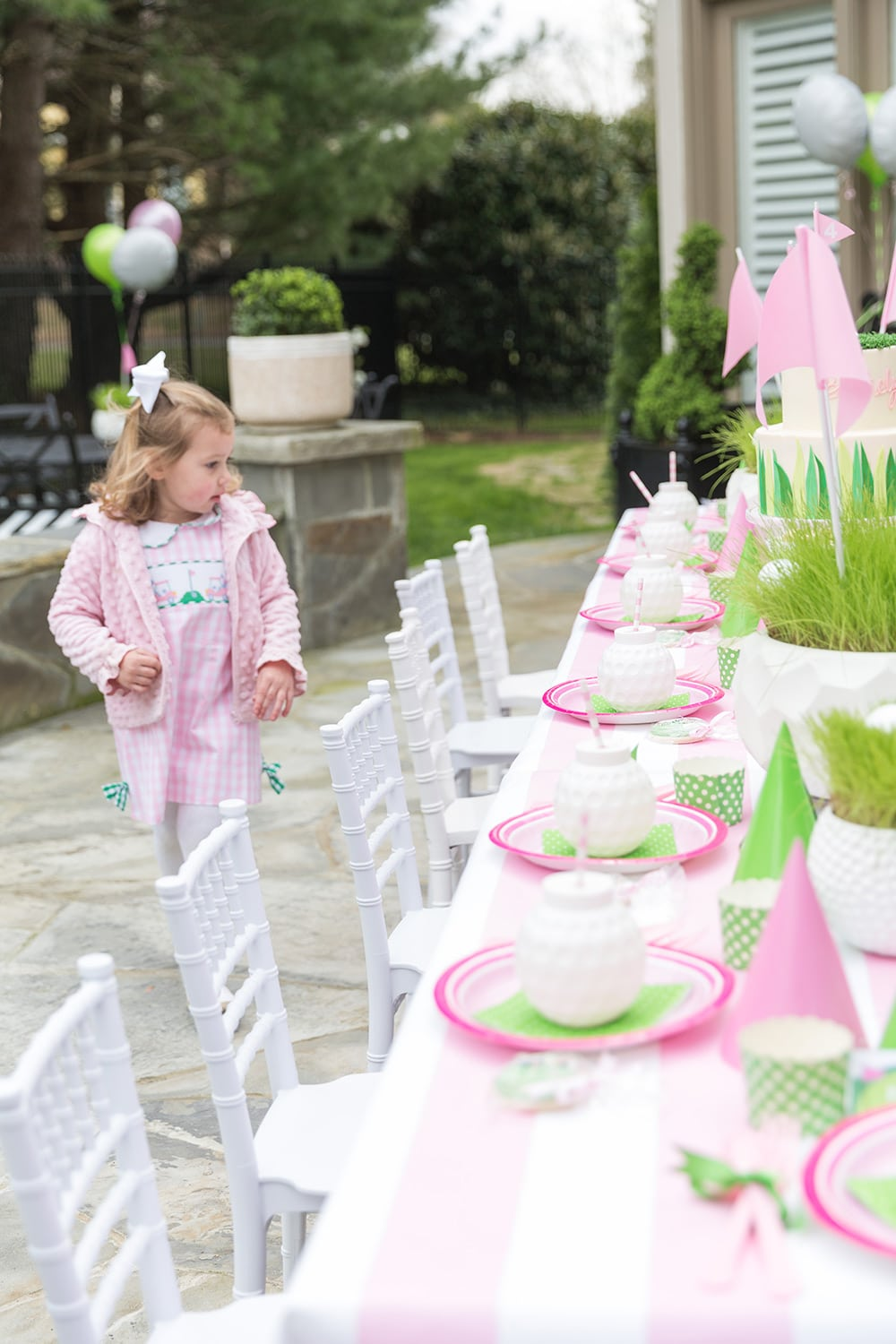 Girls Golf Birthday Party