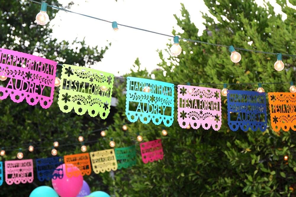DIY Fiesta Banners