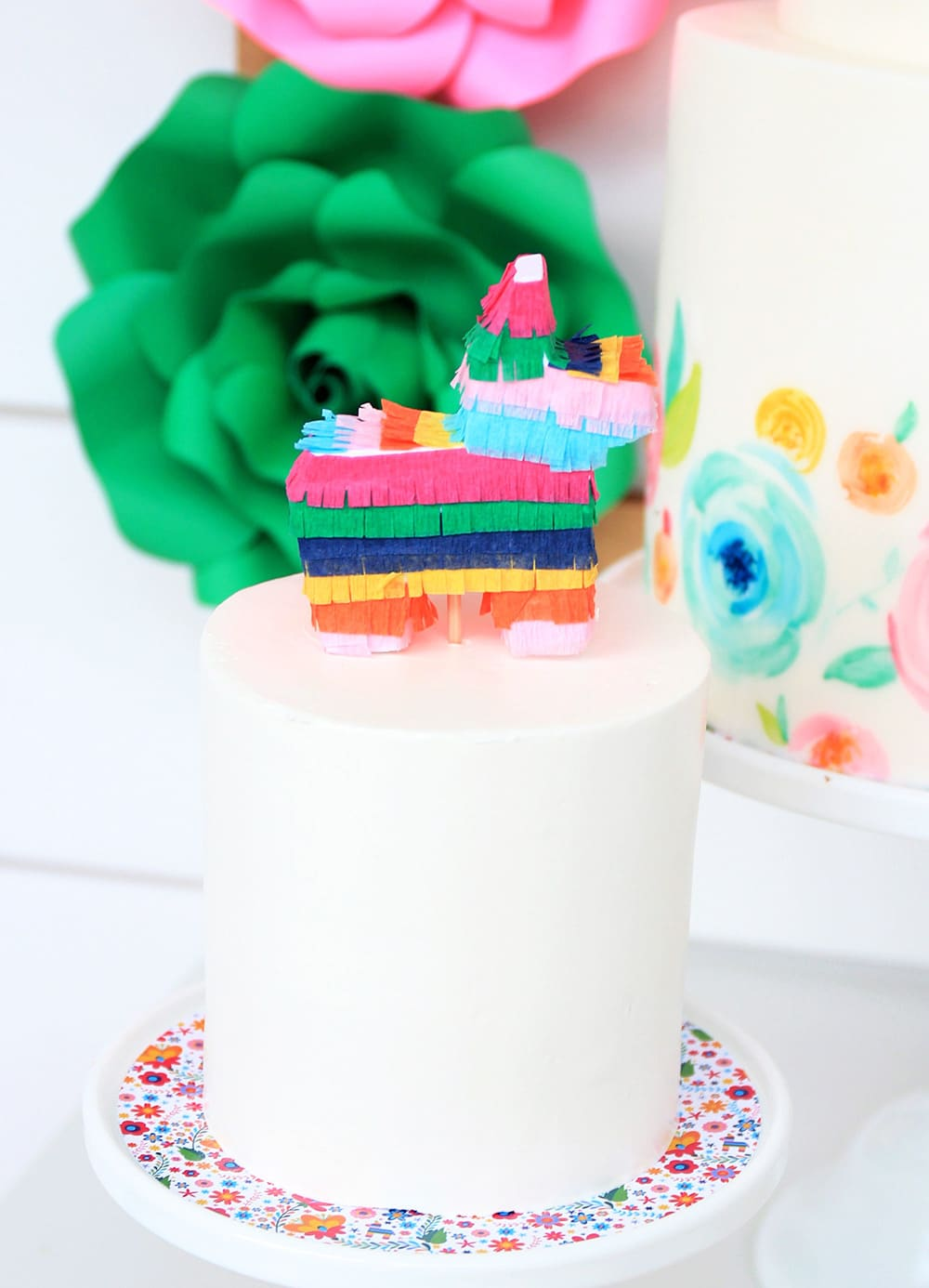 Fiesta Birthday Party Cake