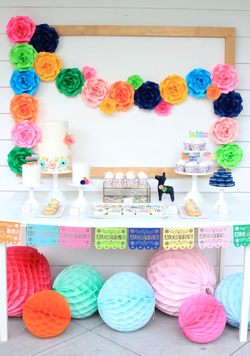 Fiesta Dessert Table