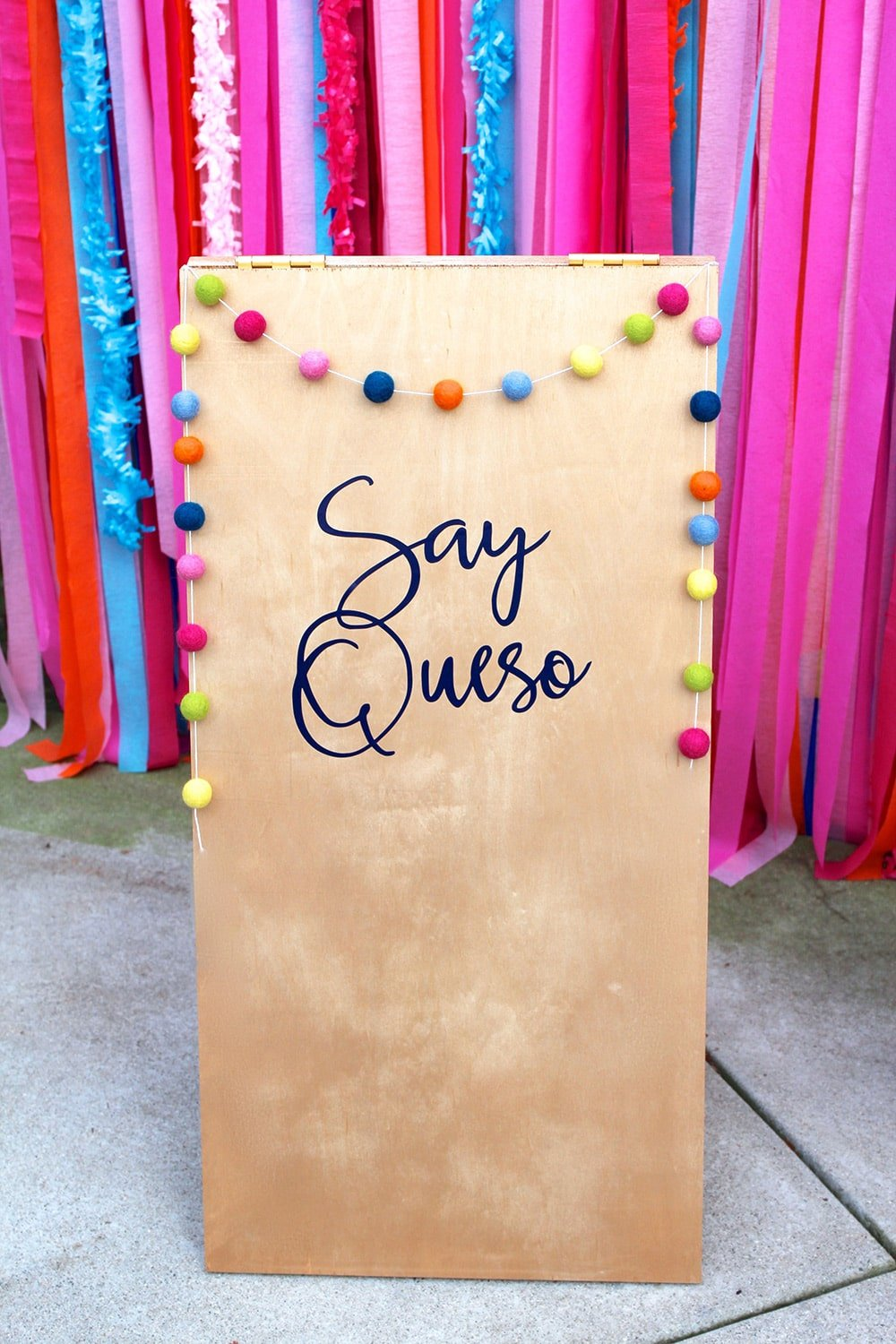 Say Queso Fiesta Photo Booth