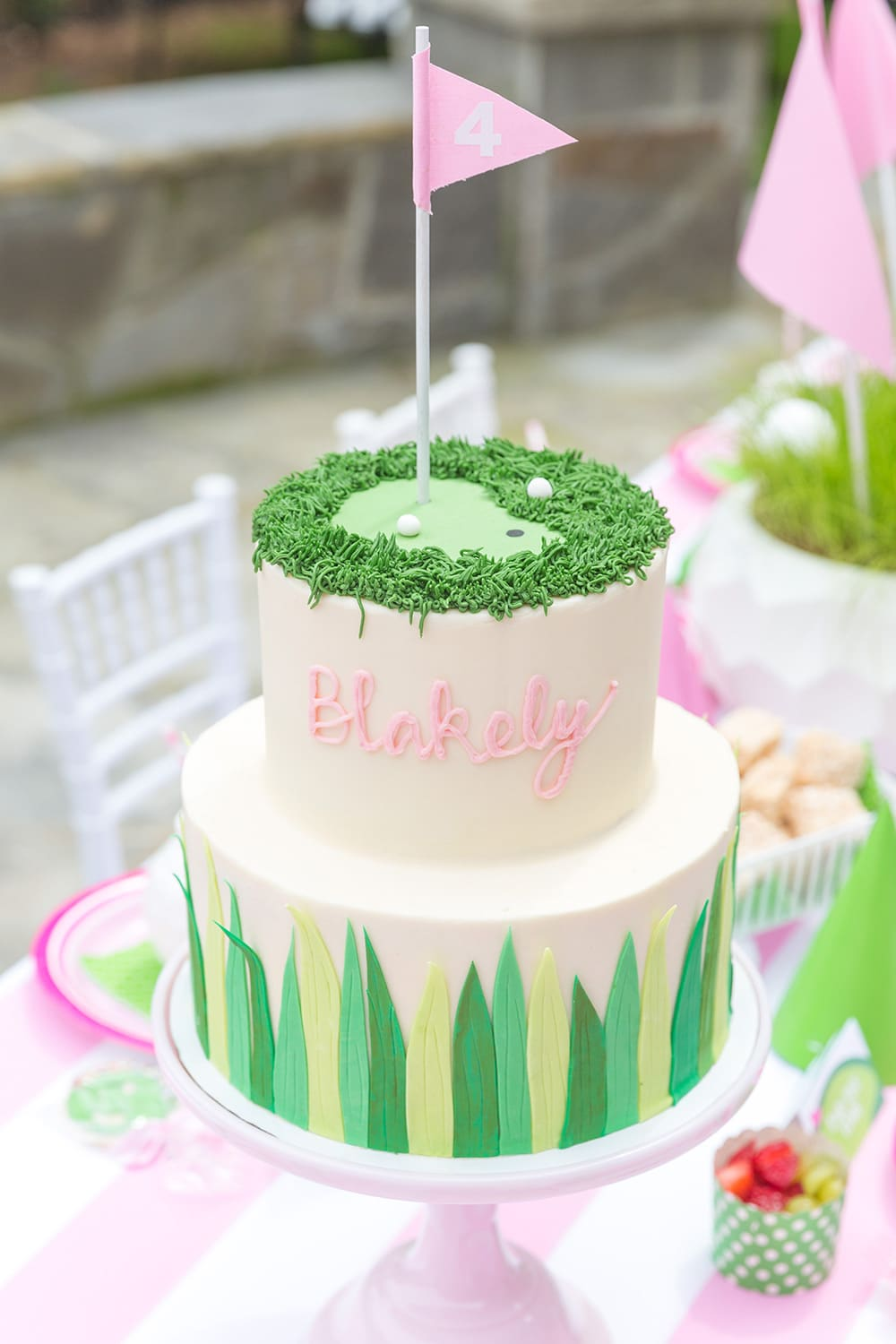 Golf Birthday Partee Cake