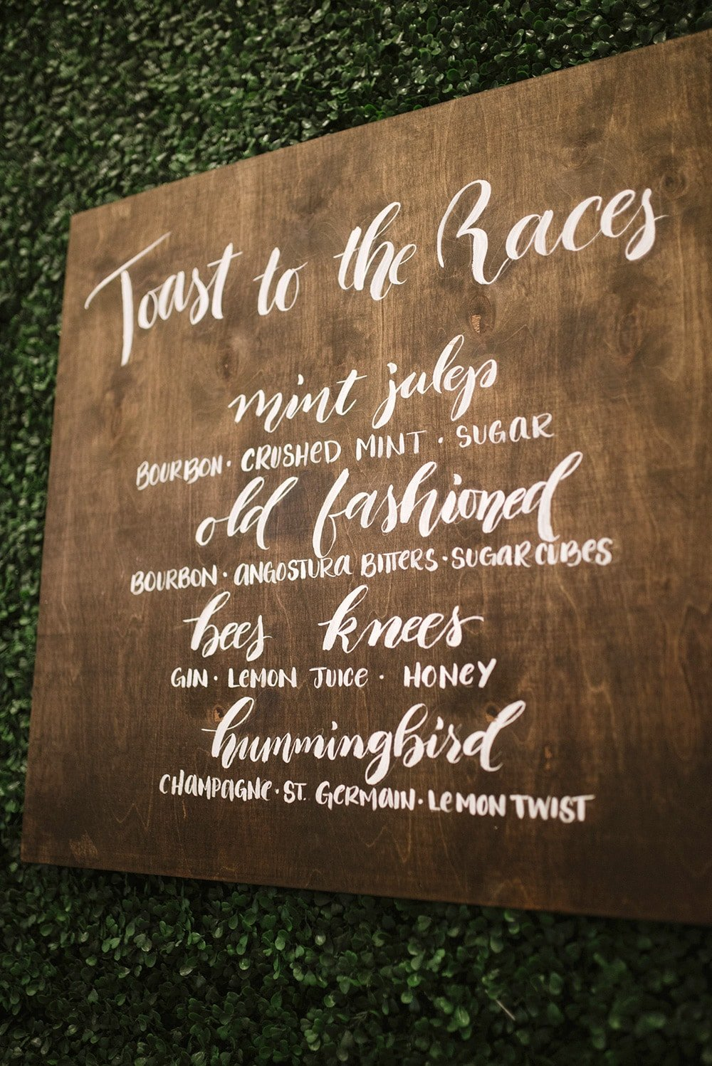 Kentucky Derby Themed Party Menu
