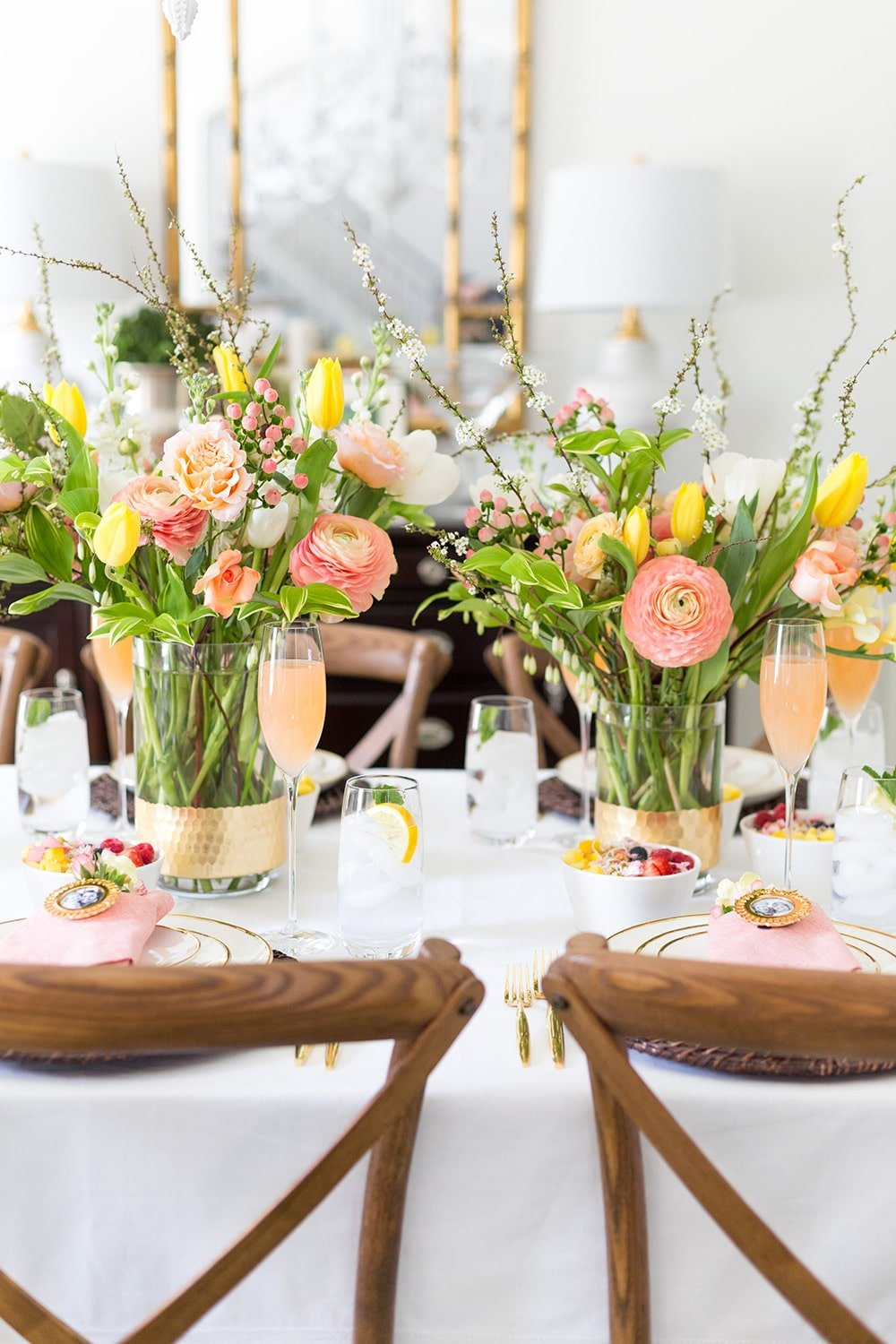 Mother's Day Brunch Tablescape Pizzazzerie