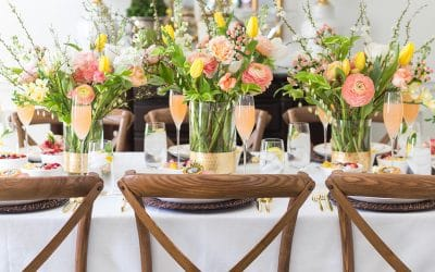 A Floral Themed Mother's Day Brunch