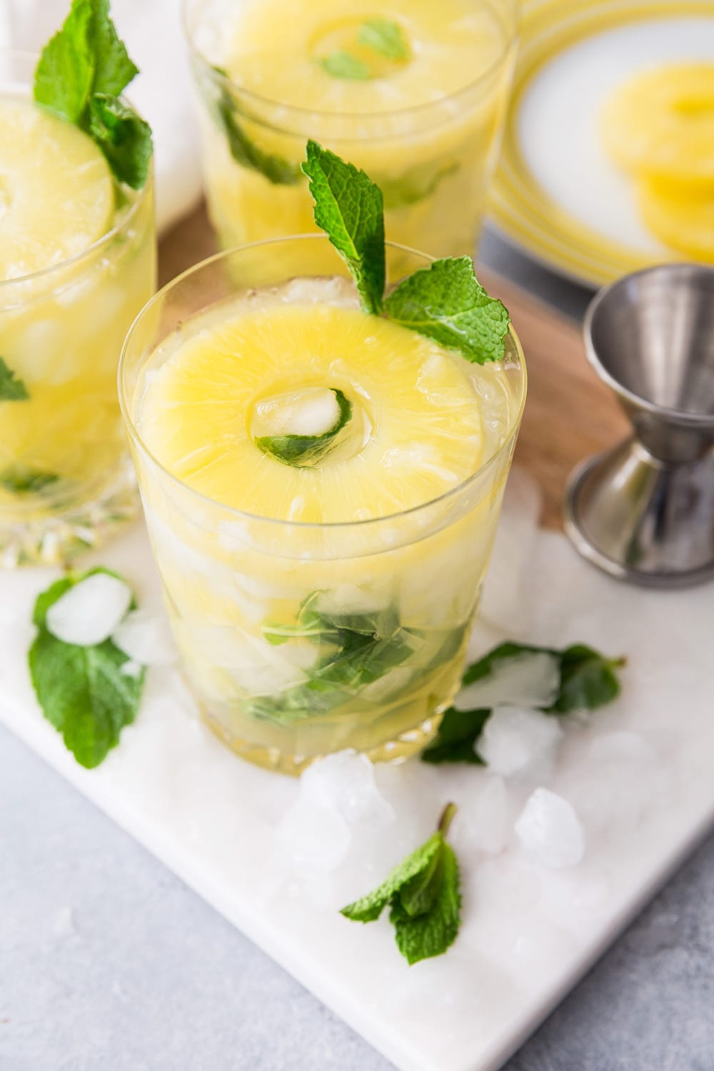 Pineapple Ginger Mojito Cocktail Recipe