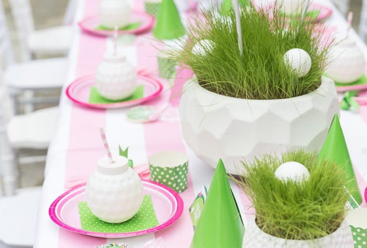 "Blakely's 4th Birthday: Pink ""Golf Partee"""