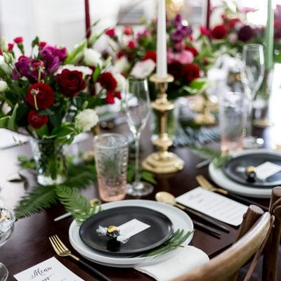 Gorgeous Party Tablescape