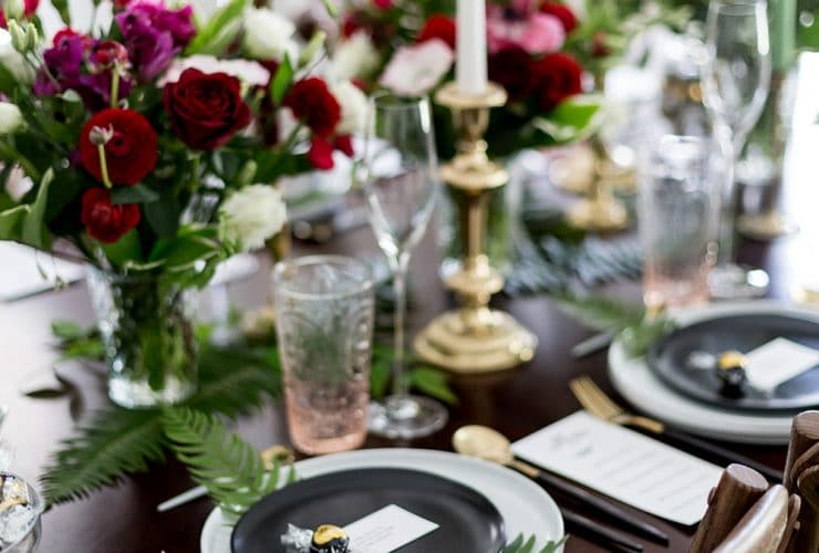 Chocolate Themed Brunch & Tablescape