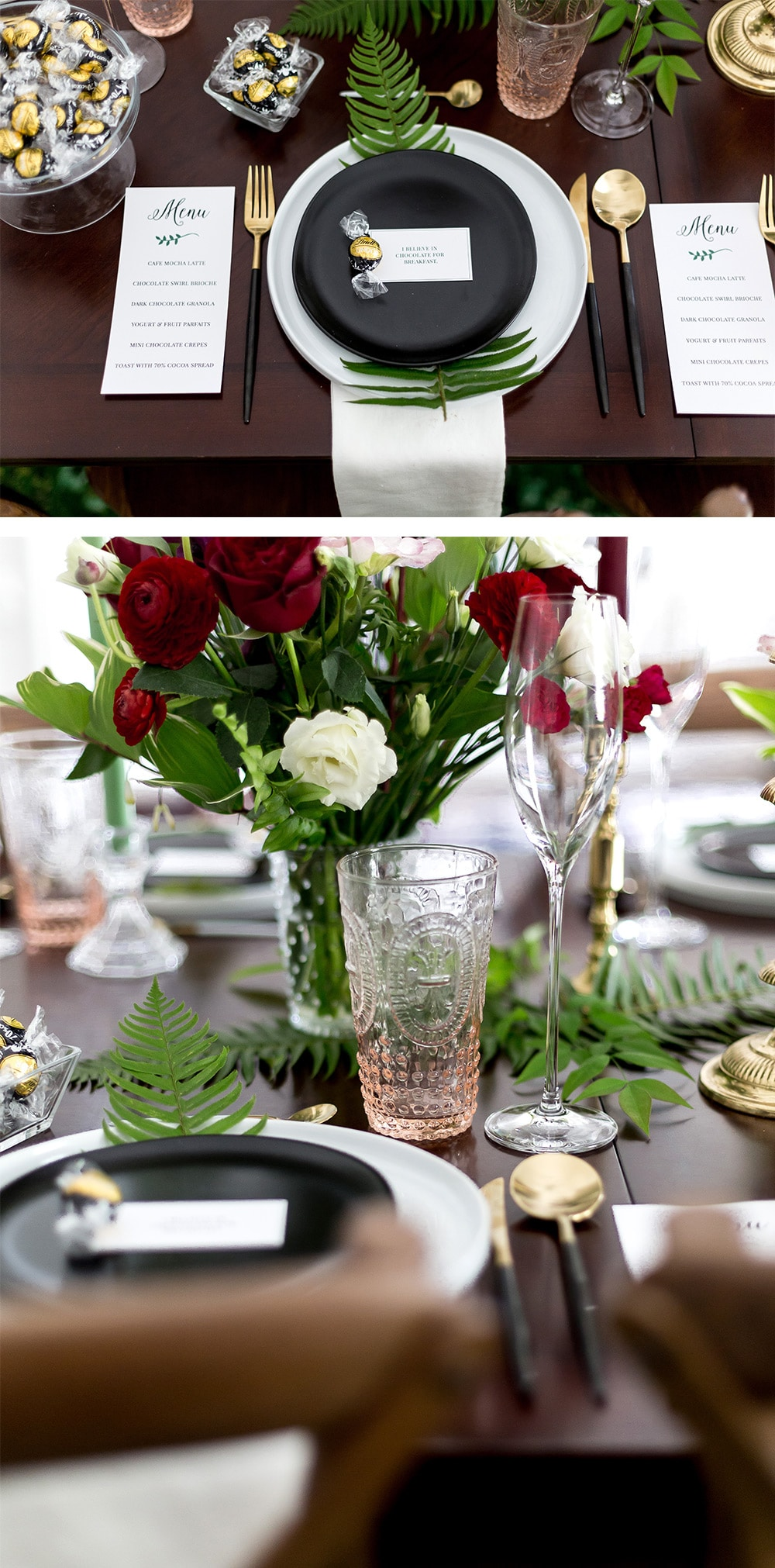 Gorgeous Tablescape for Brunch