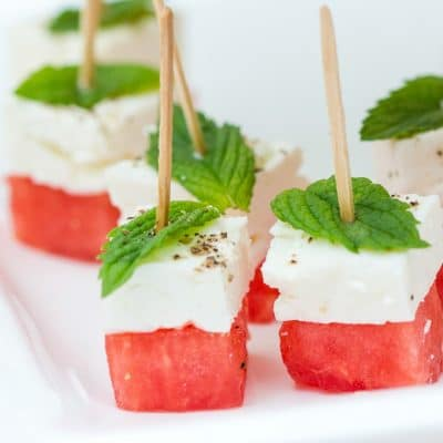 Healthy Appetizers for the Summer