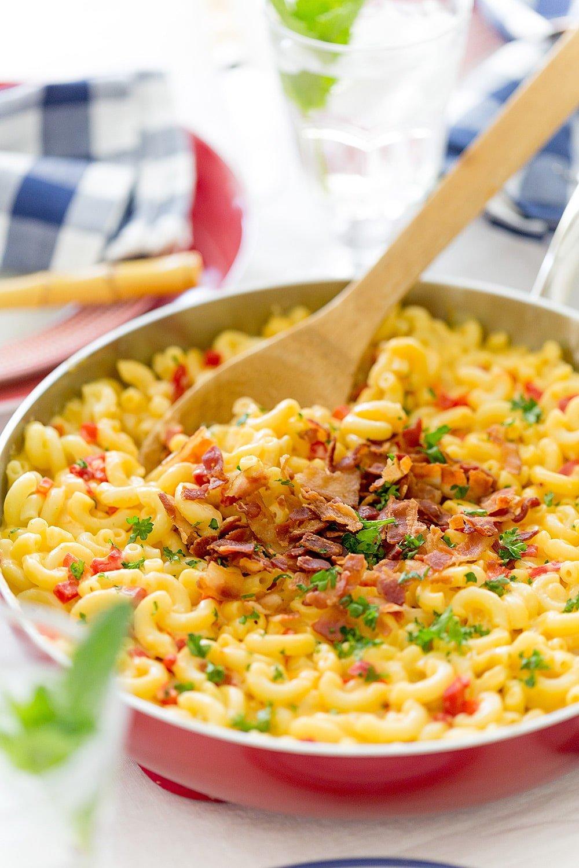 Southern Skillet Pimento Macaroni & Cheese