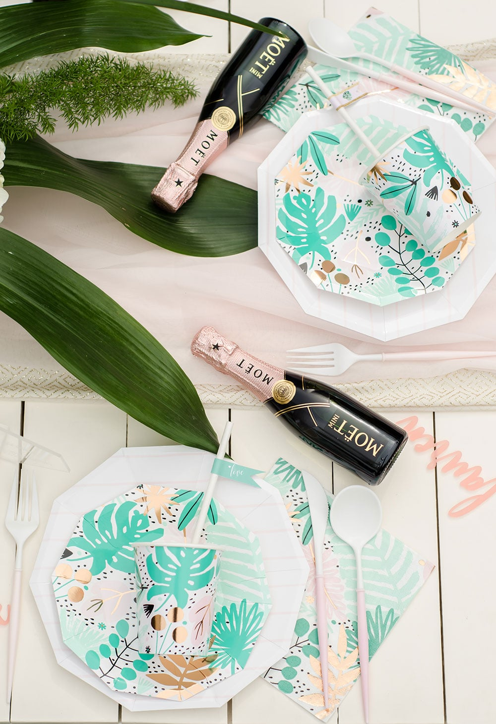 Tropical Bridal Shower Details