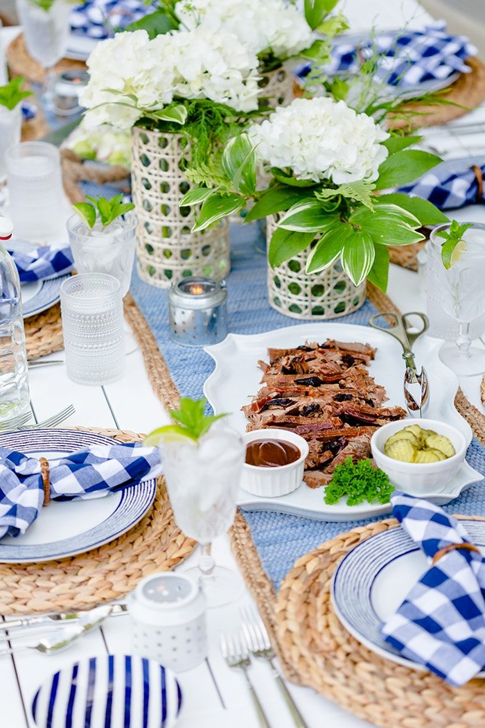 Barbecue Party Table