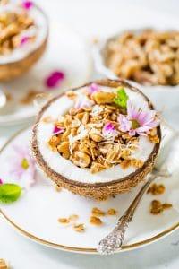Homemade Coconut Granola