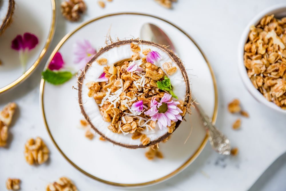 Coconut Walnut Granola