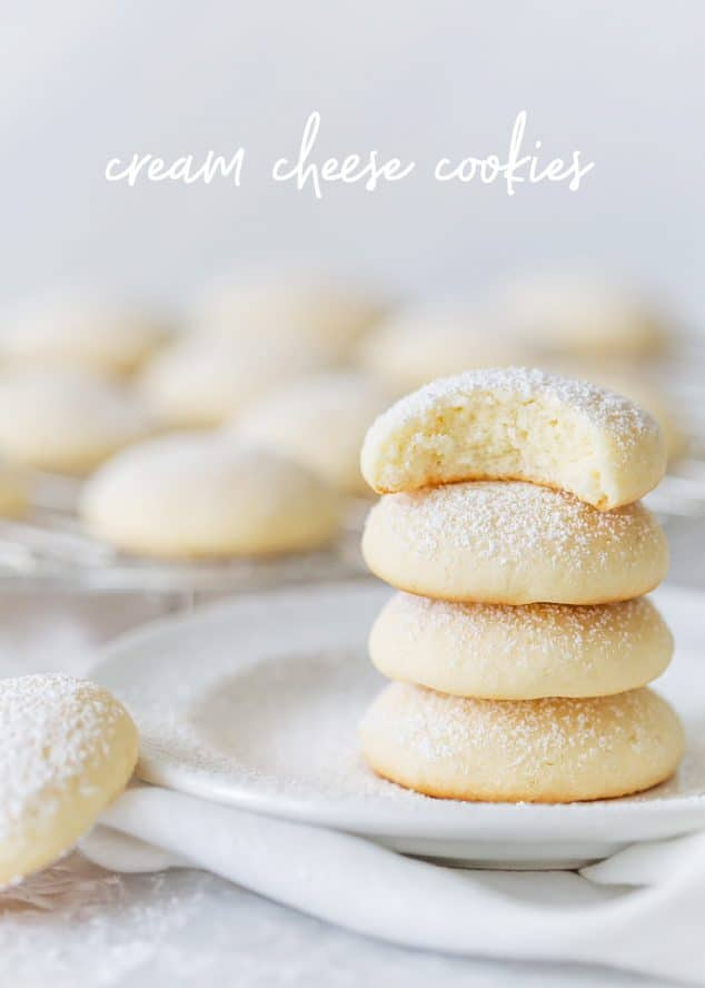 Cream Cheese Cookies Pillow Soft Cookies Pizzazzerie