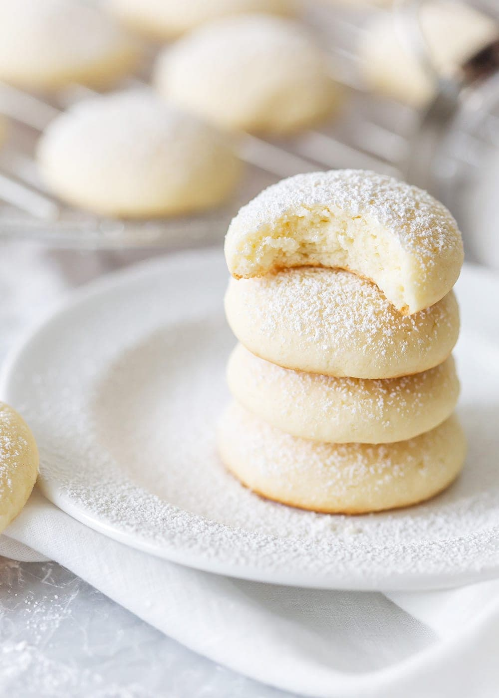 Easy Cream Cheese Cookies