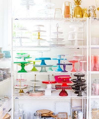 Cake Stand Prop Room