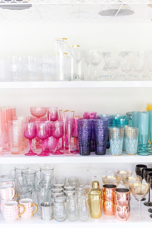 glassware prop room