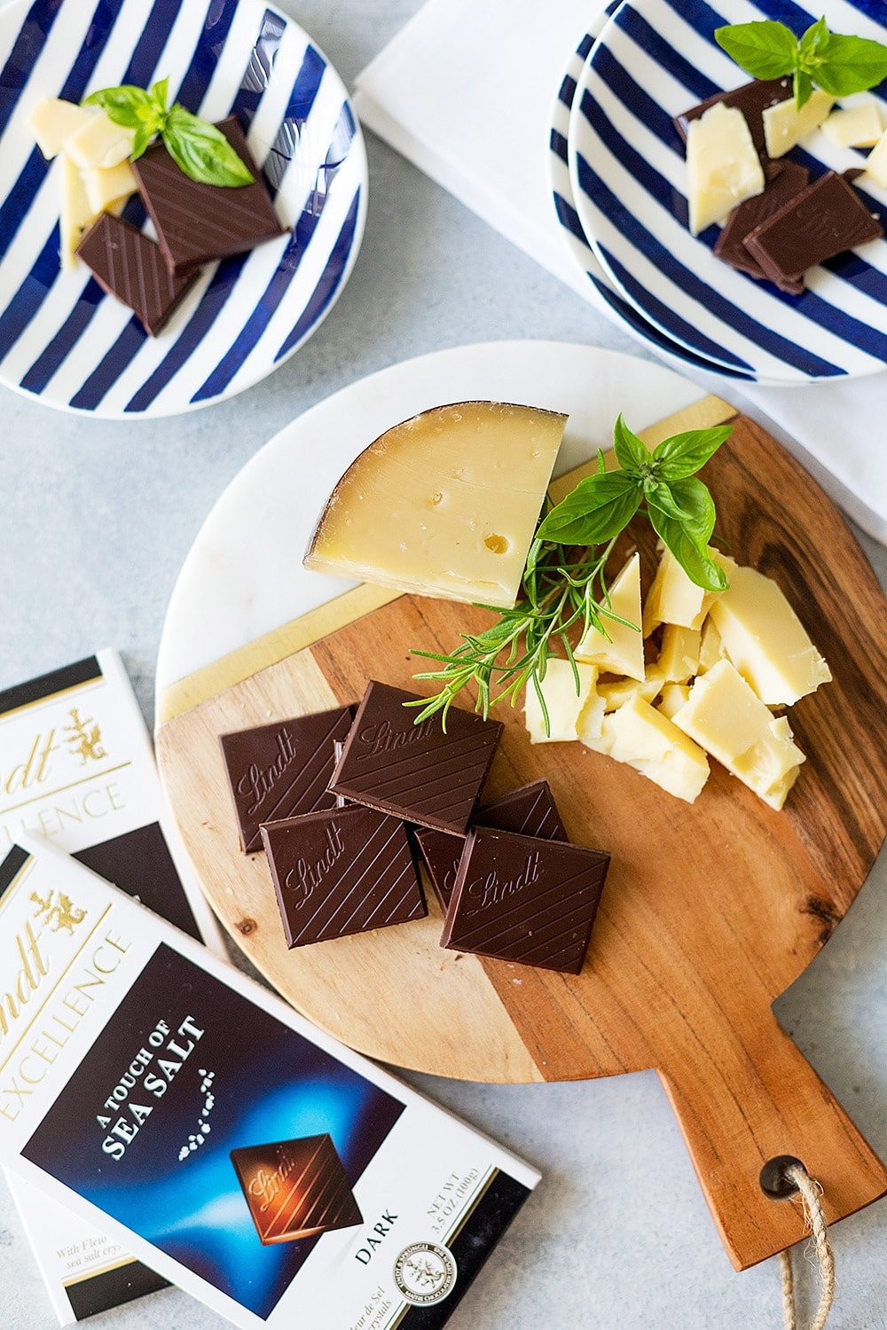 Chocolate and Cheese Pairing