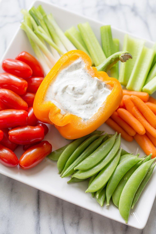 Easy Veggie Dips