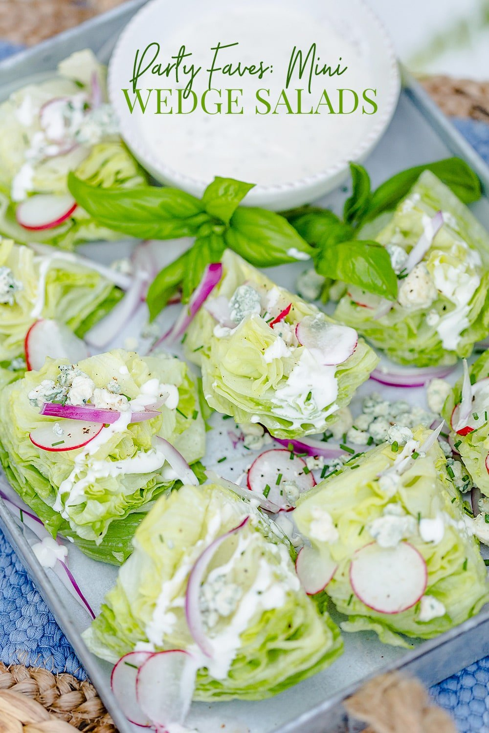 Mini Wedge Salads