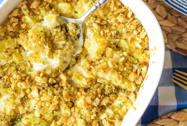 Southern Side Dish: Squash Casserole
