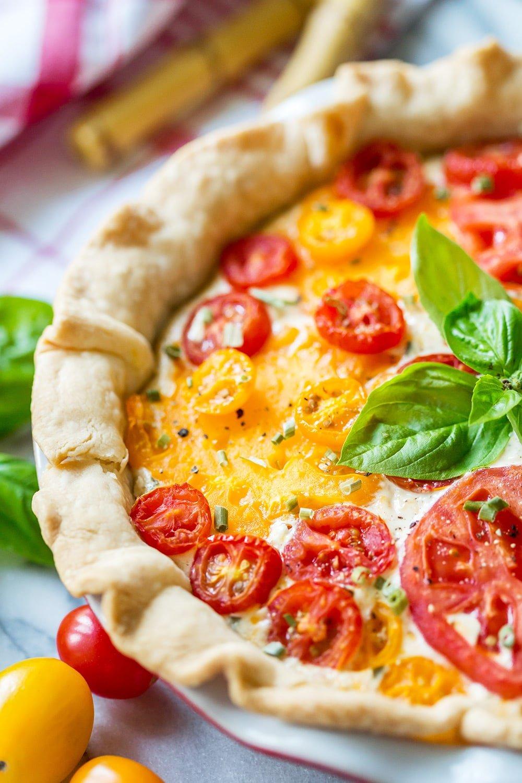 Southern Tomato Pie Recipe