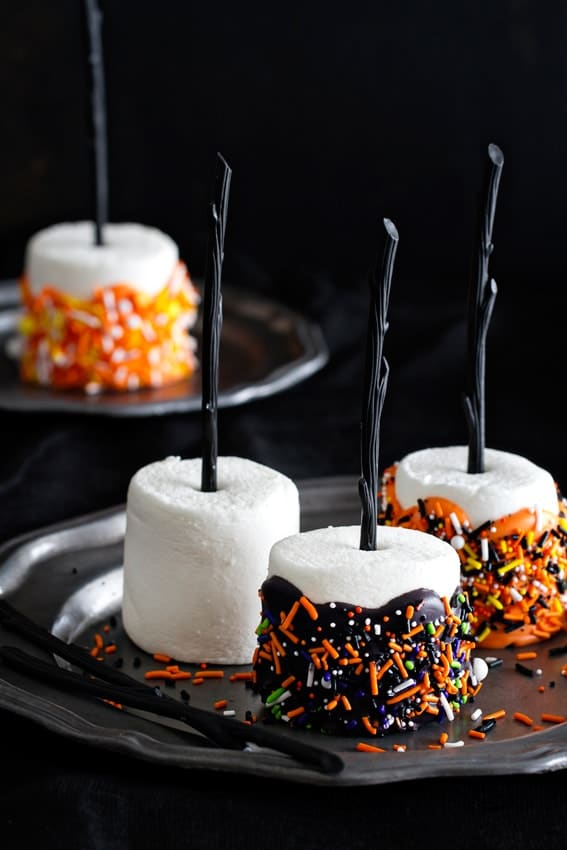 picture of halloween marshmallows