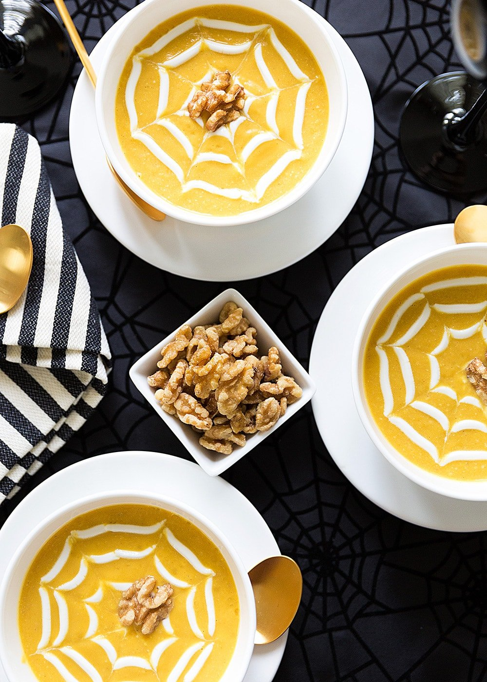 Butternut Squash Walnut Soup