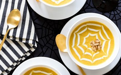 Butternut Squash & Walnut Soup