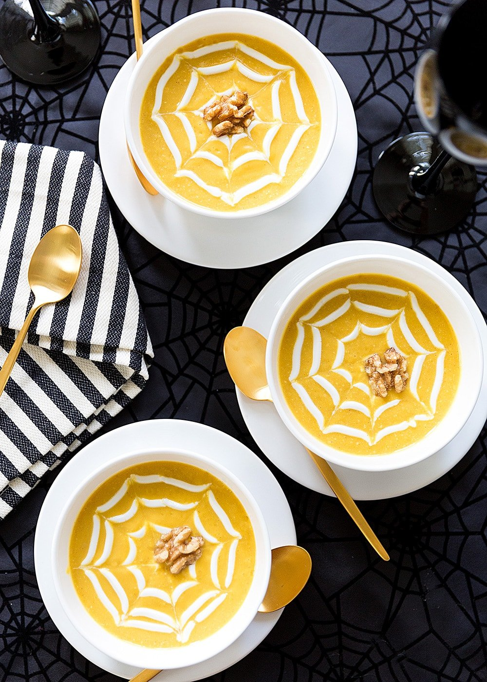 Butternut Squash and Walnut Soup