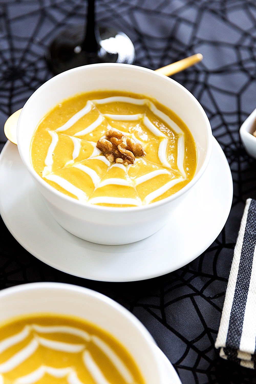 butternut squash soup for halloween