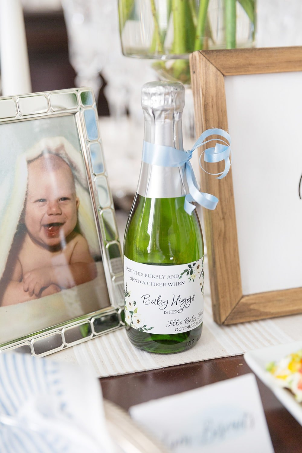 champagne favors for party