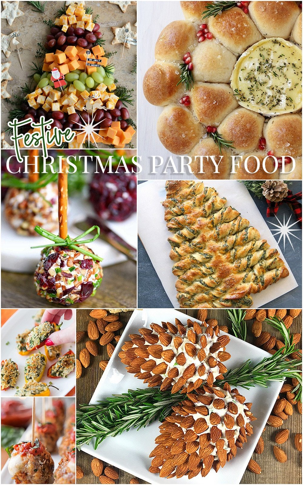 Festive Christmas Party Food Ideas Pizzazzerie