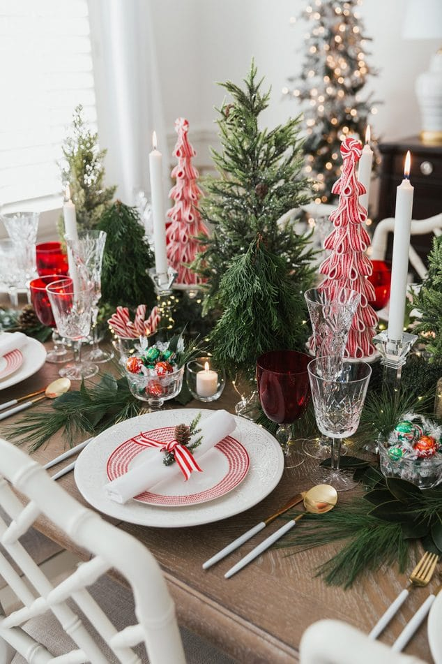Host A Peppermint Holiday Dinner Party Pizzazzerie