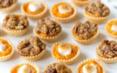 Mini Sweet Potato Casserole Bites