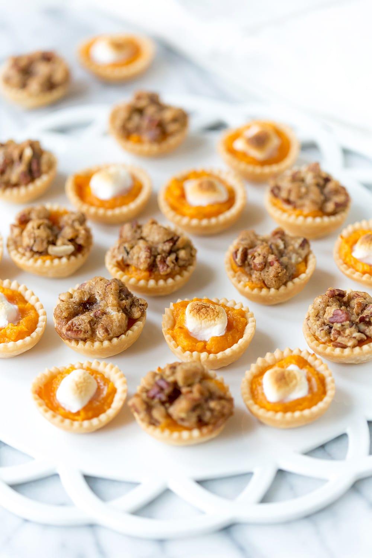 Mini Sweet Potato Casserole Bites