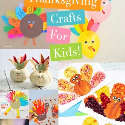 The Best Thanksgiving Crafts for Kids