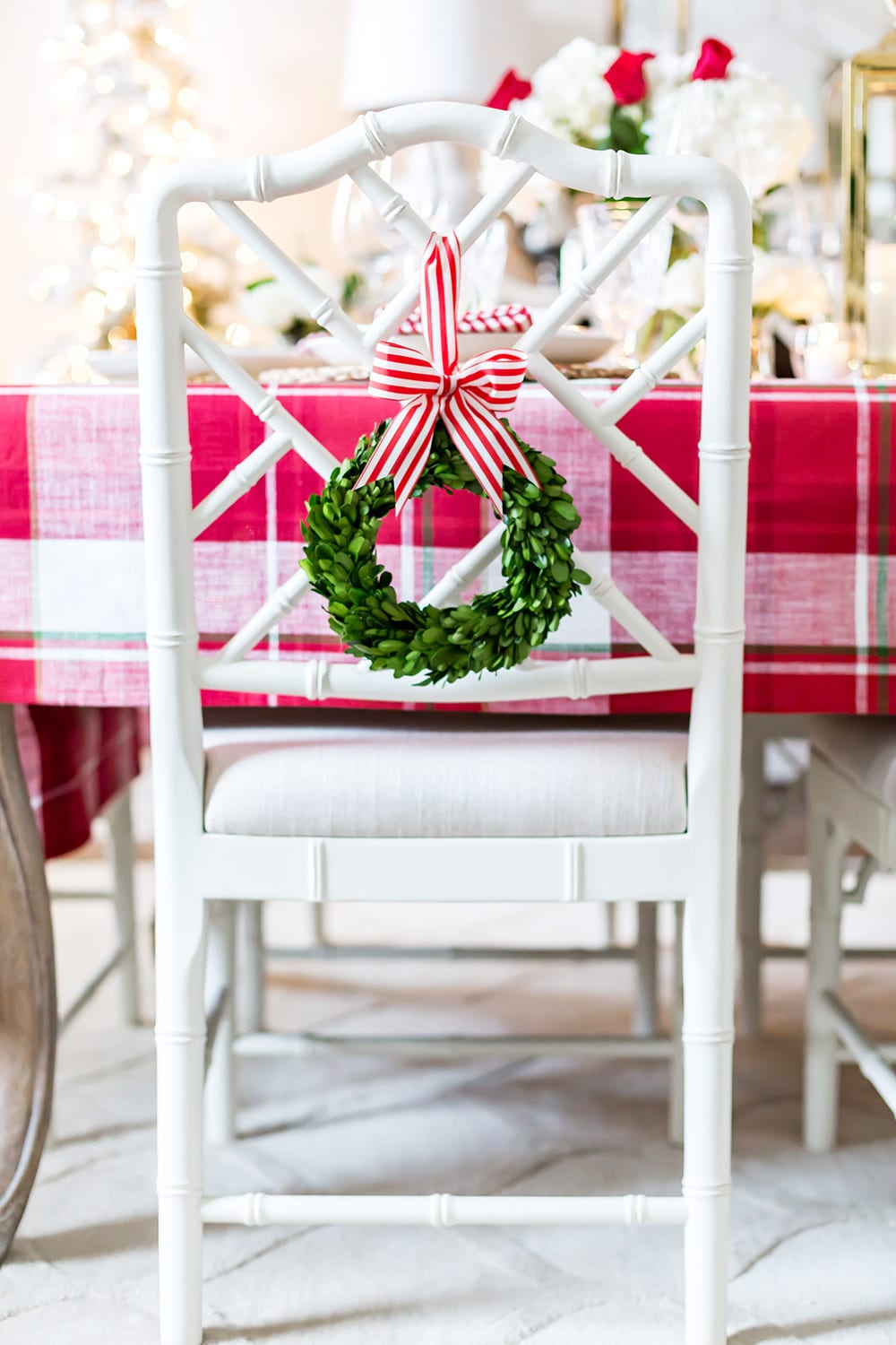 Christmas Chair Decoration
