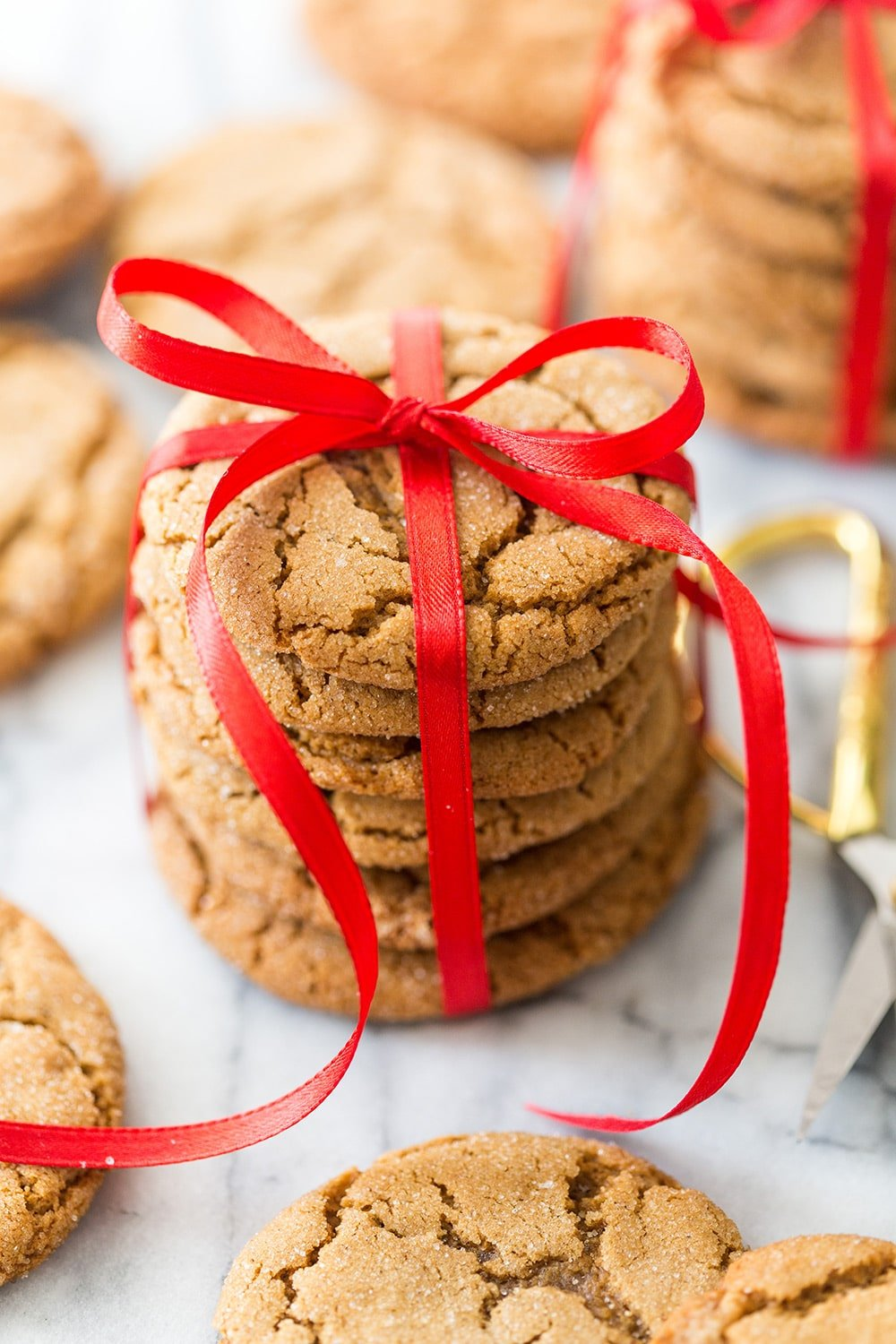 Chewy Molasses Christmas Cookies