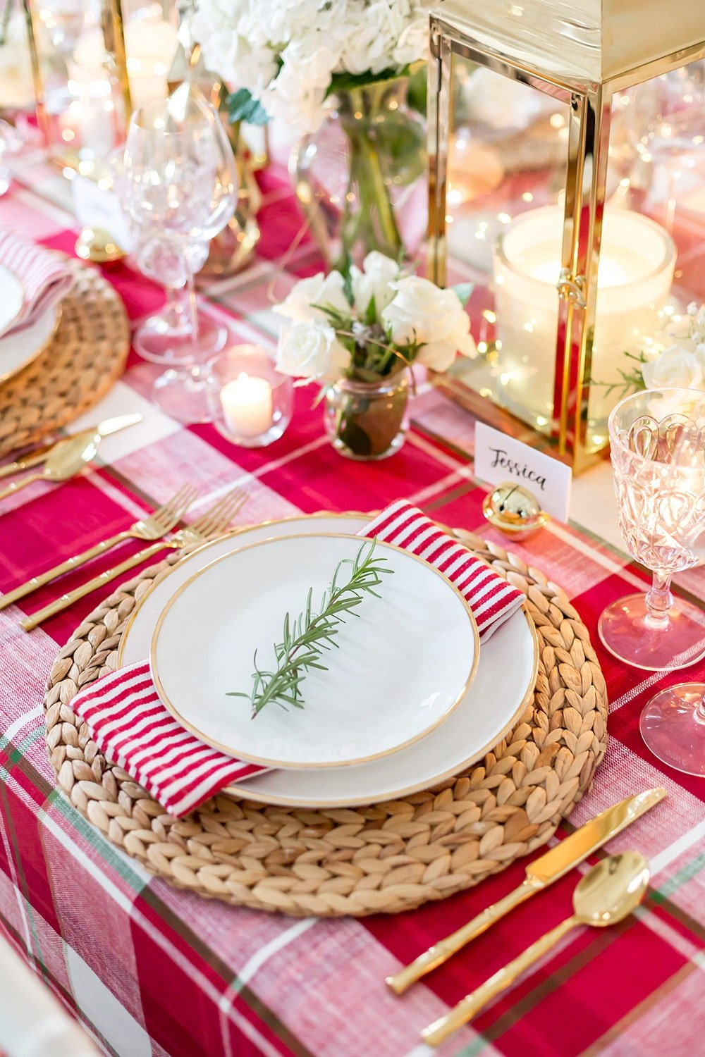 Christmas Table Decorations, Holiday Tablescape Ideas